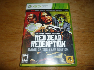 Red Dead Redemption Game Of Year Xbox 360
