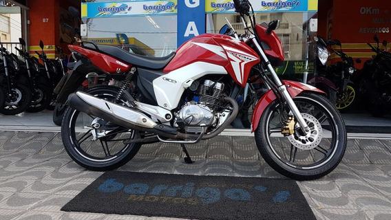 Honda Cg 150 Titan Ex Vermelha 2015 Impecável