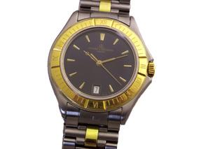 Relógio Pulso Baume E Mercier Geneve Aço E Ouro Date J21083