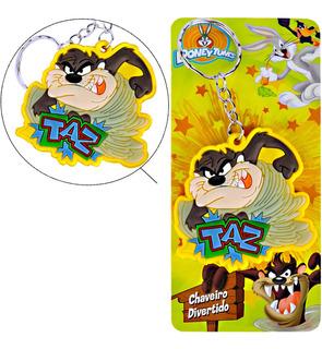 Chaveiro Divertido Taz Da Looney Tunes Warner Bros Importado