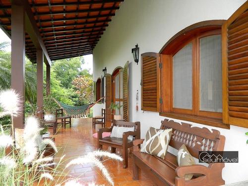 Casa Com 4 Dormitórios À Venda, 380 M² Por R$ 3.400.000,00 - Fazenda Vila Real De Itu - Itu/sp - Ca1323