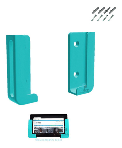 Imagem 1 de 1 de Suporte Tablet iPad Celular Smartphone 1,1 Cm Parede Painel