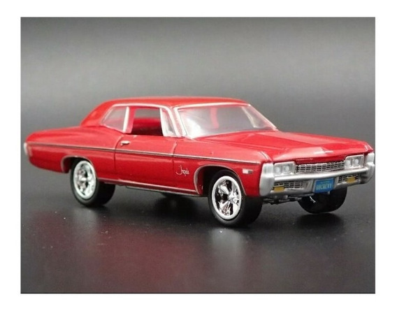 1968 Chevrolet Chevy Impala 327 Ss Johnny Lightning 1/64