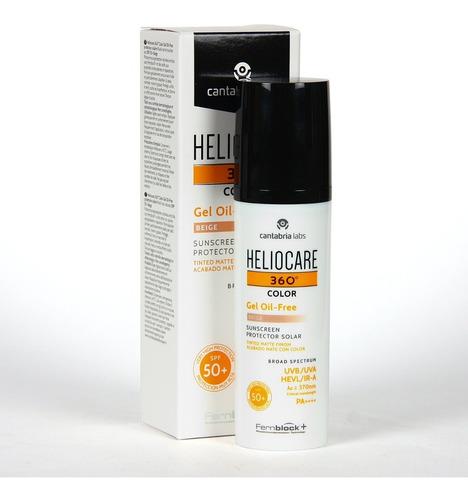Heliocare 360 Gel Oil-free Color Beige Spf 50 50 Ml
