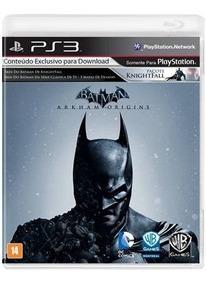 Batman Arkham Origins Playstation 3 Original Usado