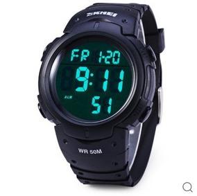 Relógio Multifuncional Com Alarme E Resistência- Esporte