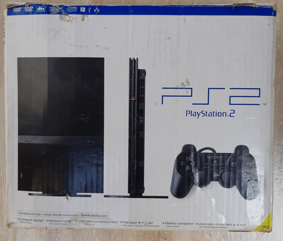 Videogame Playstation 2 Sony + 14 Jogos + 2 Controles