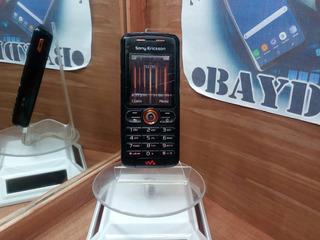Sony Ericsson W200a Negro Telcel Detalle Estetico Pantalla