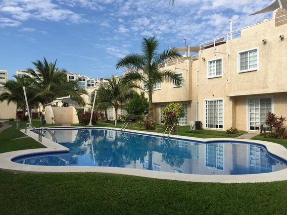 Casa En Acapulco Diamante En Puente Del Mar Cerca La Playa