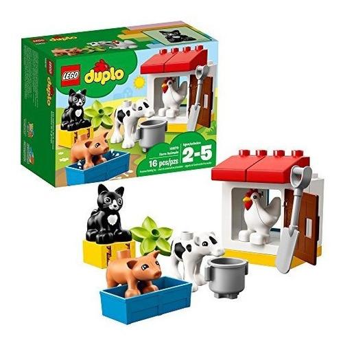Lego 10870 Duplo Farm Animals - Juguete De Construcción Pre-