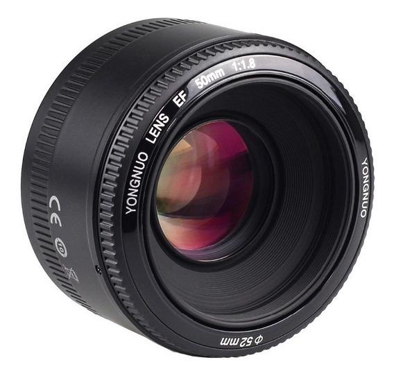 Lente Yongnuo Yn 50mm F1.8 Canon