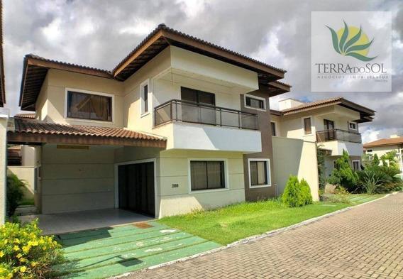 Duplex De Luxo Em Condomínio Fechado. - Ca0653