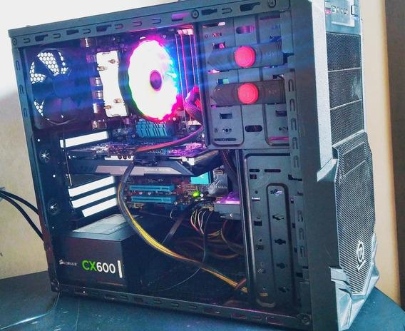 Pc Gamer Octacore @4.0ghz, 16gb Ram, Gtx 760 + Headset Gamer