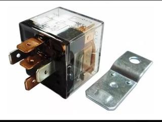 Rele Relay 5 Patas 12 V 80/90 Transparente Con Led