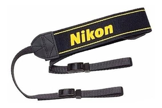 Alça De Pescoço Nikon Original D5600 D5300 D3300 D3200 D3100