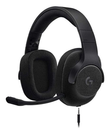 Headset Gamer Logitech G433 7.1 Com Fio Multiplataforma