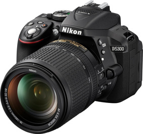 Camera Nikon D5300 Lente 18-55mm+32gb Classe 10+tripé+bolsa