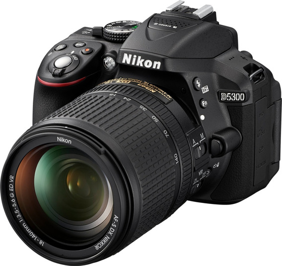 Camera Nikon D5300 Lente 18-55mm+32gb Classe 10+tripé+bolsa
