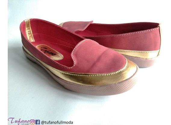 Zapato Dama Tufano Mocasin Mod. 3815g