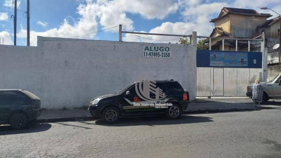 Terreno Para Alugar, 1450 M² Por R$ 6.500/mês - Jardim Presidente Dutra - Guarulhos/sp - Te0010