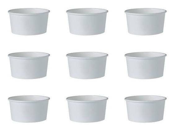 Vaso Para Helado 8 Onzas 50 Piezas