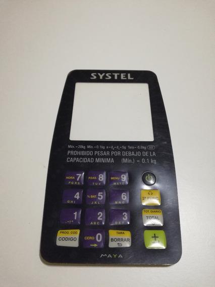 Panel Adhesivo Systel Maya Original - Usuario 16 Teclas