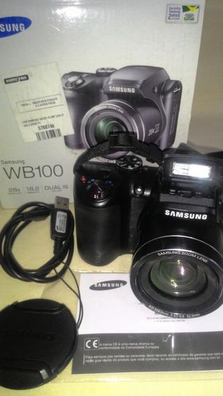 Câmera Samsung Wb100 Semi Profissional / Super Conservada