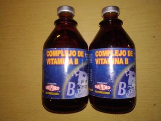 Complejo De Vitaminas B De 100ml