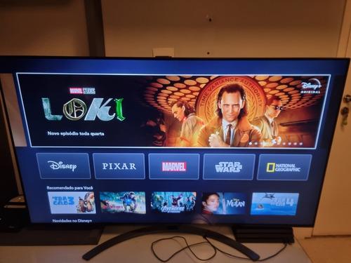 Imagem 1 de 3 de Smart Tv LG Ai Thinq 65sm8600psa Led 4k 65  100v/240v