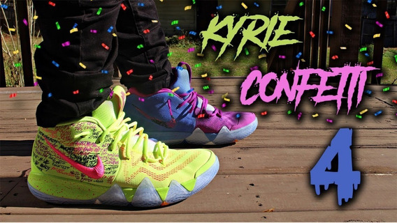 Tenis Kyrie Irving Confetti Nba Basketball Baloncesto Jordan