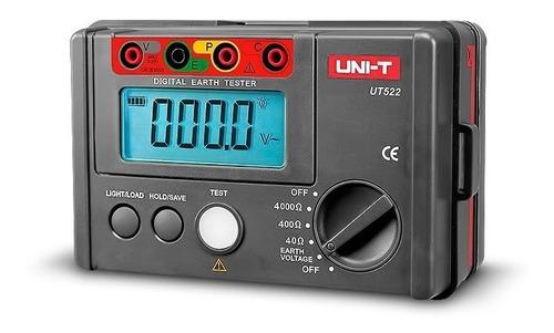 Telurimetro Medidor De Puesta A Tierra Uni-t Ut522