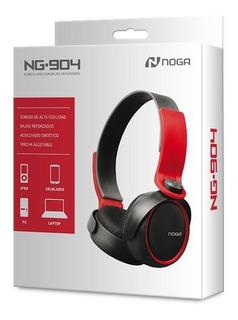 Auriculares Vincha Gamer Pc Celular Tablet Cable Noga Ng-904