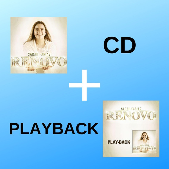 Cd Renovo + Cd Renovo Playback - Sarah Farias Cd 2019