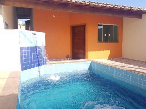 Casa Lado Praia E Com Piscina No Tupy Em Itanhaém - 6051|npc