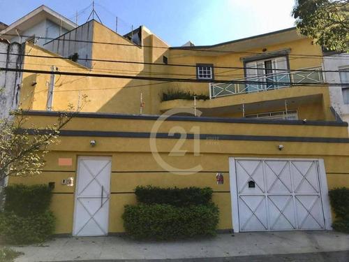 Casa Com 3 Dormitórios À Venda, 134 M² Por R$ 1.045.000,00 - Parque São Domingos - São Paulo/sp - Ca0886