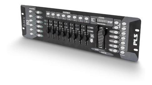 Mesa Controladora Pls Dmx 1216 1612 Iluminação 192 Canais