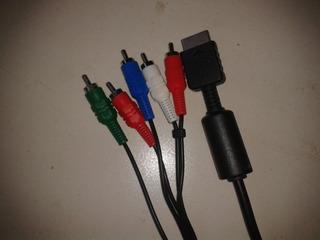 Playstation Cable Componente Ps2 Y Ps3