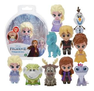 Muñeco Figura Frozen 2 Whisper Y Glow C/ Luz Disney Original