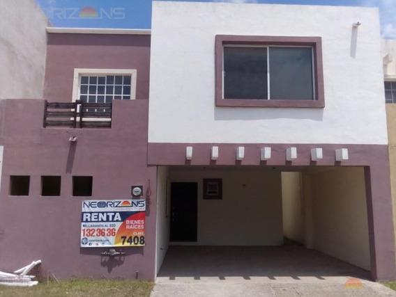 Renta De Casa En Villas Náutico, Altamira, Tam.
