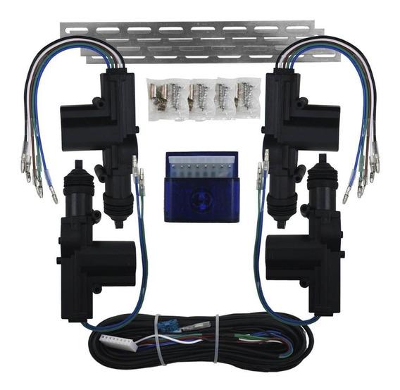 Kit Trava Elétrica Universal 4 Portas Duplo Comando Gc