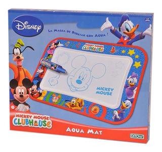 Pizarra Magica Aqua Mat Mickey Club House Ditoys Original