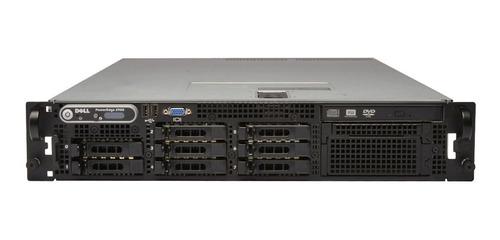 Servidor Dell Poweredge 2970 1x Quad-core Amd Opteron Processor 2374 He 2.2ghz 16gb Ddr2 Ram 8x 500gb Hd + Frete + Nf