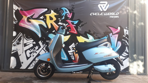 Scooter Electrico Sunra Grace Litio  Extraible Cycle World