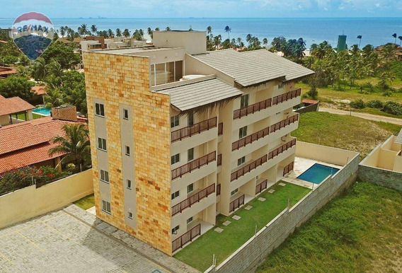 Apartamento Na Praia Do Cumbuco, Oportunidade. - Ap0191