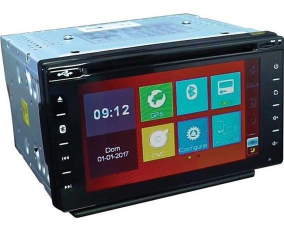 Central Multimídia Taytech T95 Dual Plus Espelhamento Tv Gps