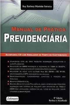 Imagem 1 de 1 de Manual De Prática Previdenciária 4 Com Cd-rom De Ruy Barb...