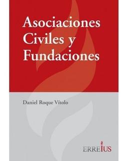 Asociaciones Civiles Y Fundaciones Vitolo Tapa Dura Erreius