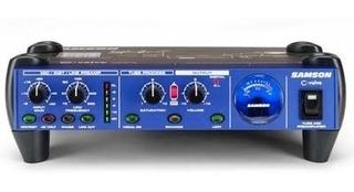Preamplificador P/ Microfono Samson C-valve Valvular Envios