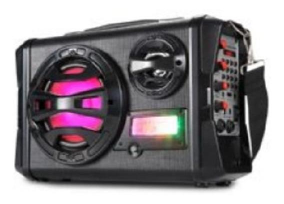 Caixa De Som Amplificada Bluetooth Dj Amplificador Microfone