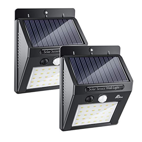 Lampara Solar De 30 Led Impermeable Sensor Movimiento 2 Pz